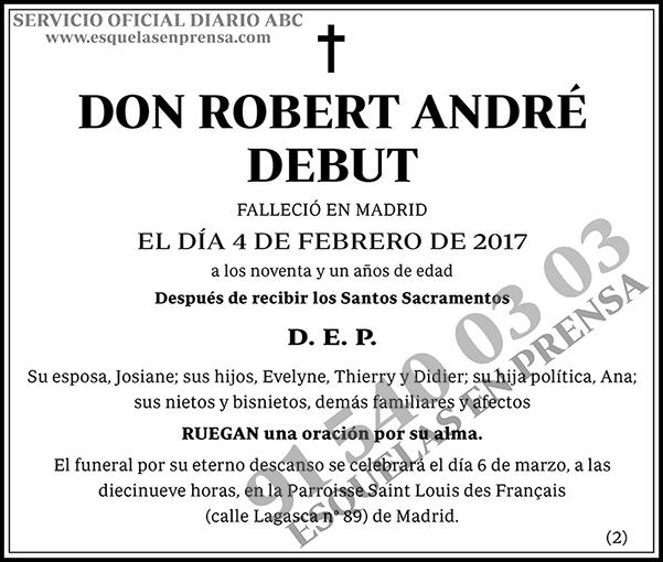 Roberto André Debut